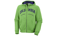 Columbia Men's Spring Lake Cobb Full Zip neon green/aristocrat